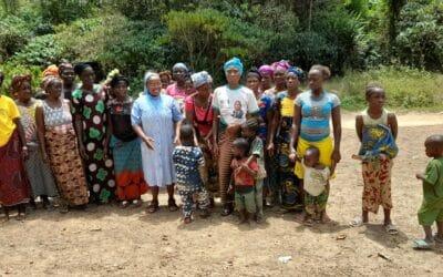 Un dispensario ed una sala parto in Guinea